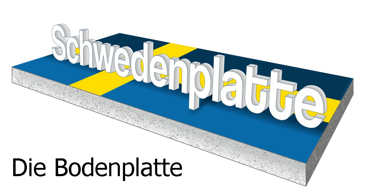schwedenplatte energiespar bodenplatte fuer haus halle